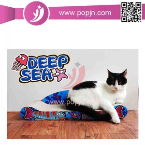 Engros Cat Scratcher med Bell Cat Legetøj Pet Supplies