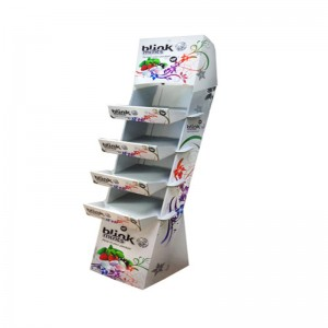 Promotion Cardboard Display For Book Gratulationskort, Retail Display Stand Display Merchandise, Pop Display